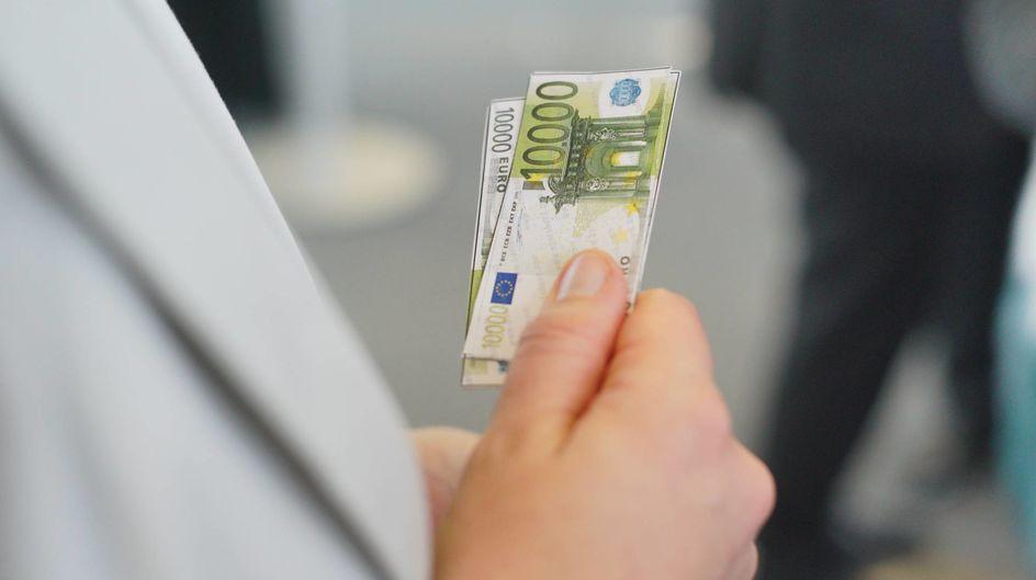 """Und wieder wurden """"IPW-Dollar"""" verteilt! Die Gewichtung der Themen mit Spielgeld zeigt, wo am meisten Potenzial gesehen wird."""