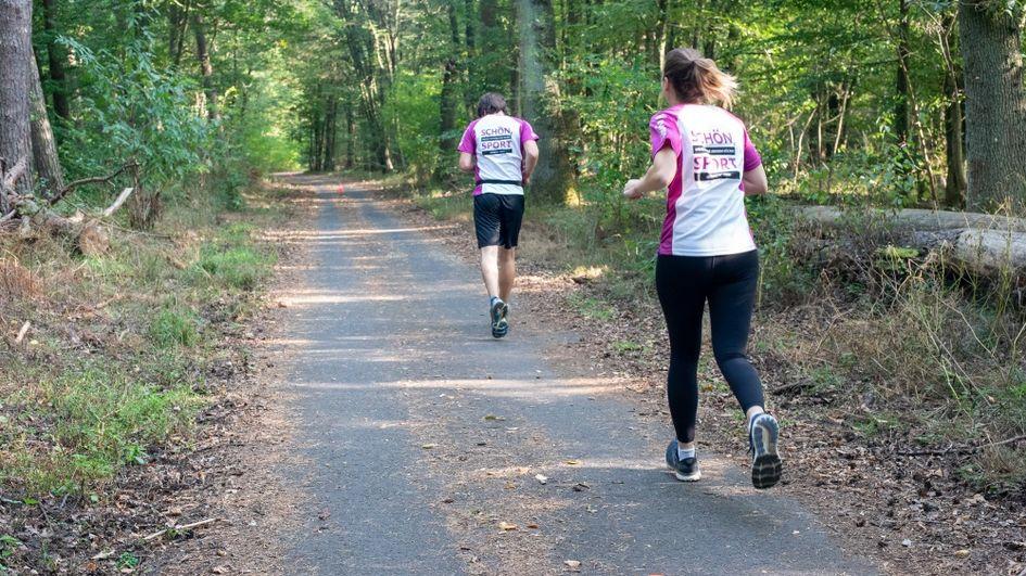Beim Hanauer Stadtlauf 2020 stellte Evonik das größte Läuferteam. Foto: Evonik Industries