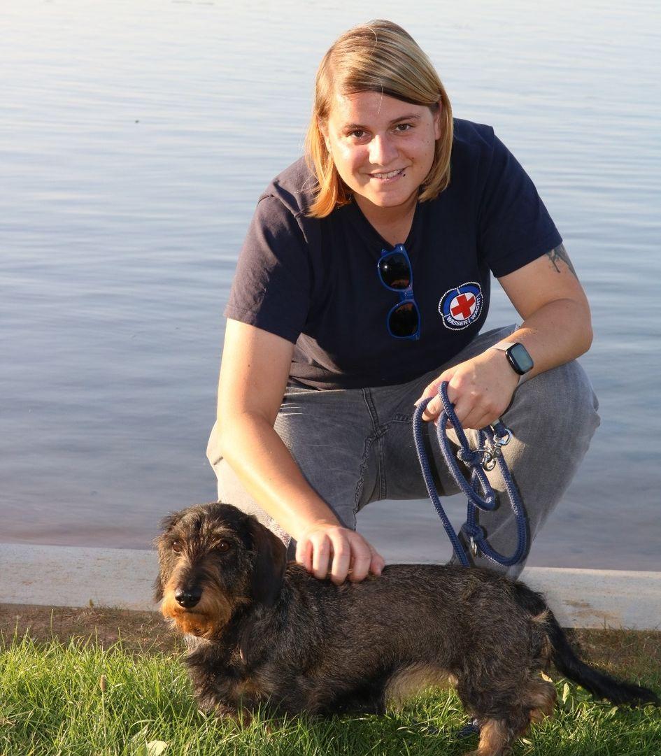 Miriam Appel engagiert sich bei der Wasserwacht. Foto: privat
