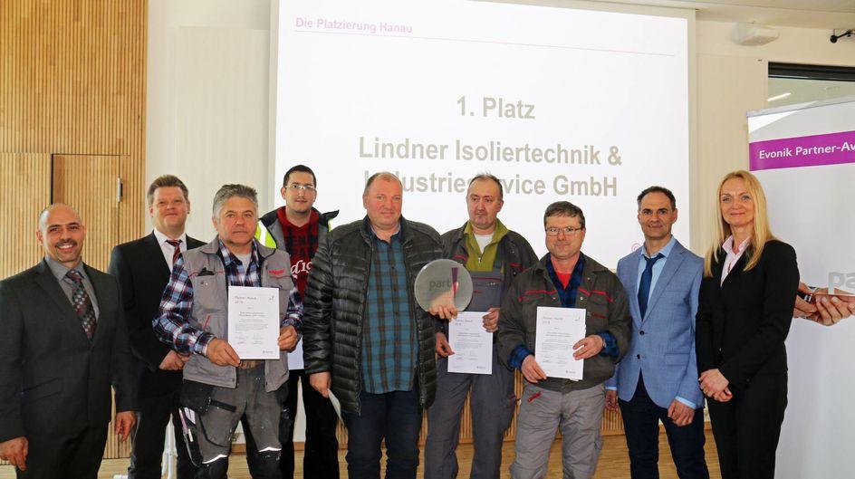 ... and the winner is: Das Team von Linder Isoliertechnik & Industrieservice. Herzlichen Glückwunsch!!