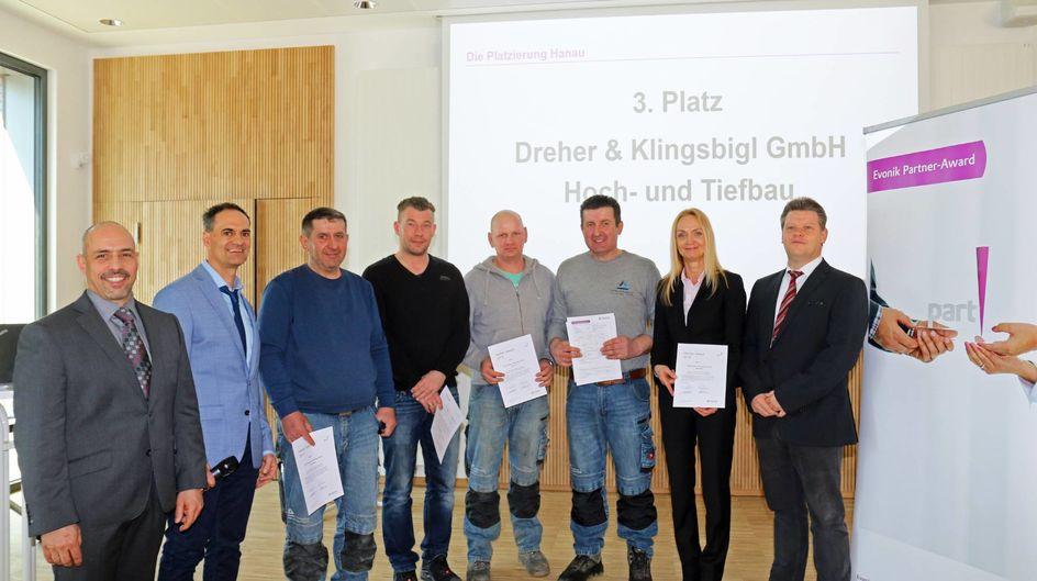Der dritte Platz ging an die Firma Dreher & Klingsbigl.